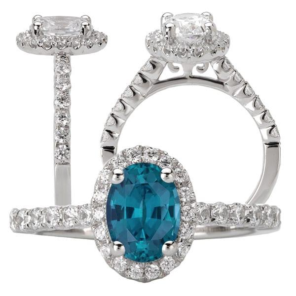 115217-100al Oval Alexandrite Ring