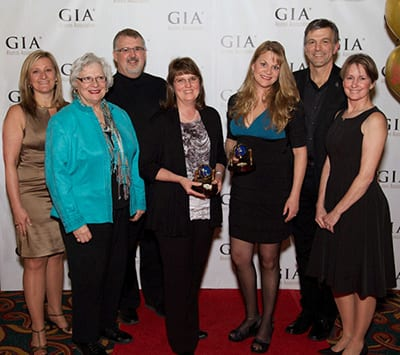 Michelle Rahm Wins GIA International Leadership Award 2011