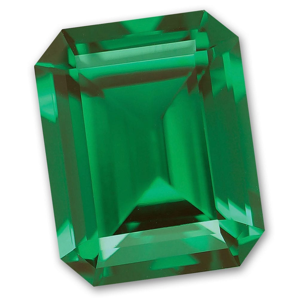 Emerald Cut Chatham-Created Emerald