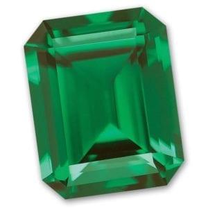 Emerald Cut Chatham-Created Emerald