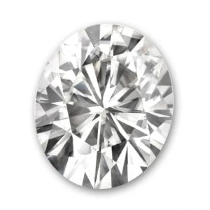 Loose moissanite Charles and Colvard Forever One Moissanite
