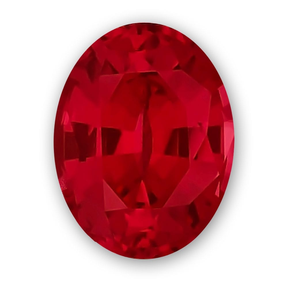 Oval Chatham Ruby